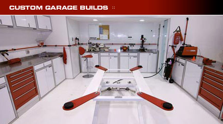 Unlimited Auto Sport 516 922 5656 Custom Garage Design